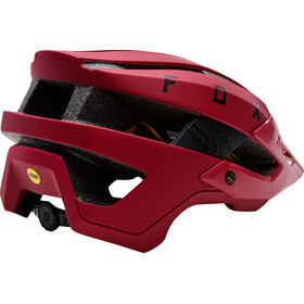 Fox Flux Helmet Mips Herr dark red